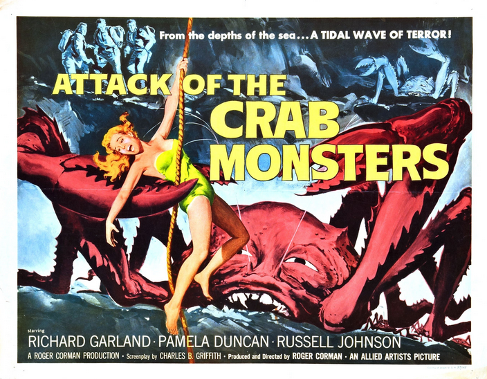 Attack Crab monsters